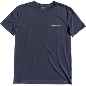 Quiksilver Lazy Sun T-shirt Heren, blue nights